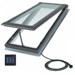 Electric Velux Skylights - Roofrite