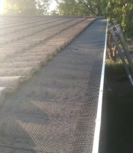 Blue Mountain Steel 4mm Gutter Guard Installed - Eltham (image)