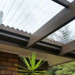 Polycarbonate roof installed Greca profile - Caulfield North (image)