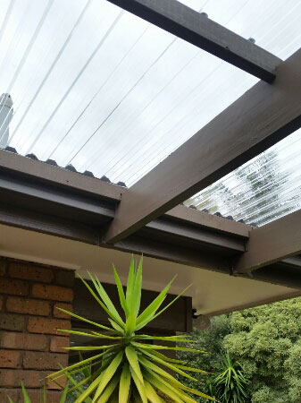 Polycarbonate Roof Installed Greca Profile   Caulfield North (image)