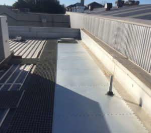 Hopper flashings installed - Box Hill North (image)