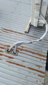 ac pipes taped (image)