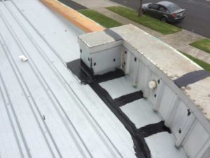 sealed flashings and capping (image)