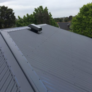 Solar roof vent installed (image)