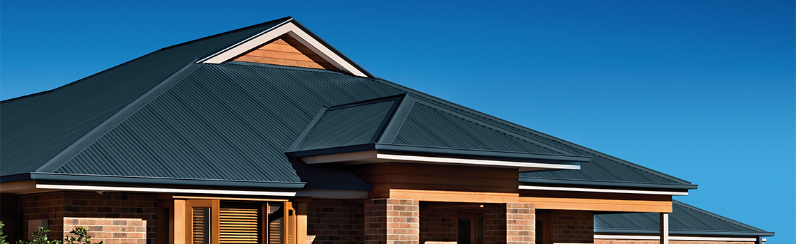 Metal Roofing And Guttering Skylights Colorbond Wall