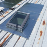 Hopper flashing to Velux Skylight - Glen-Waverley (image)