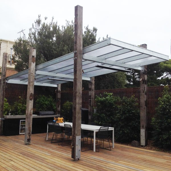 Twinwall Polycarbonate Cover Your Pergola Roofrite