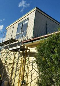 Colorbond Wall Cladding Installation In Progress - East Doncaster (image)