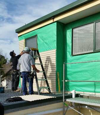 Colorbond Wall Cladding Installed Melbourne Roofrite