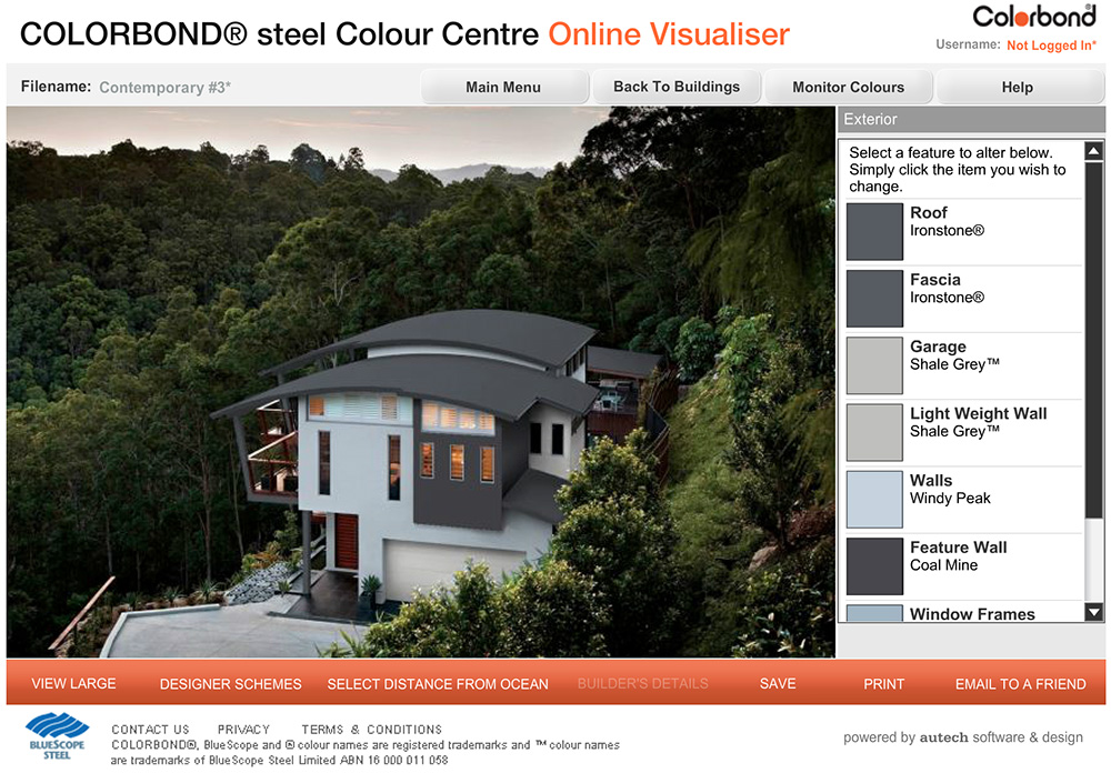 colorbond-colour-visualiser