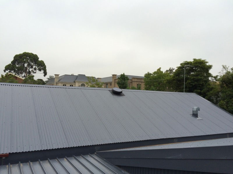 Roof Replacement - Tile to Colorbond (rear) - Balwyn (image)