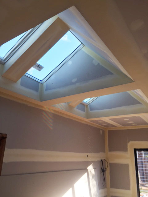 Velux Skylights Vaulted Shafts Create An Architectural
