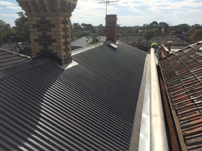 Roof Replacement Tile To Colorbond Roofrite