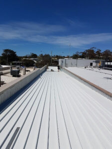 Commercial Klip-Lok roof replaced - Melbourne (image)
