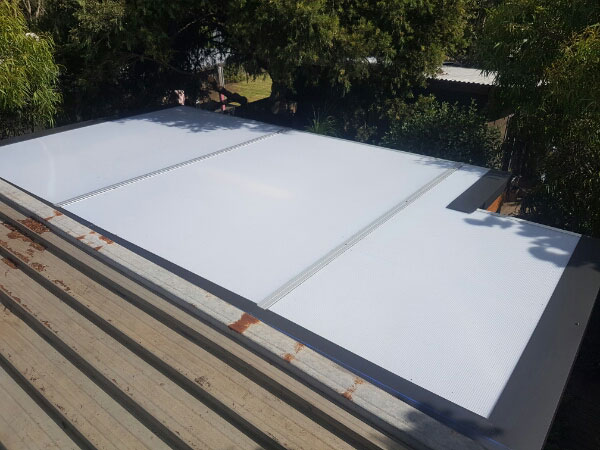 Pergola Roof Replacement - after - Carbopiu in Opal (image)