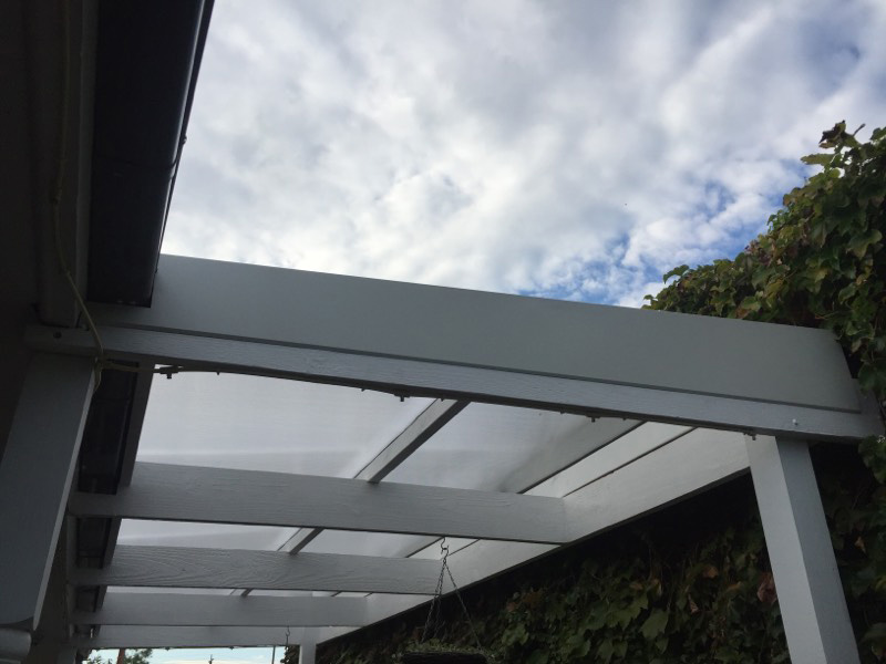 Polycarb replaced with Polypiu Multiwall - after - Coburg (image)