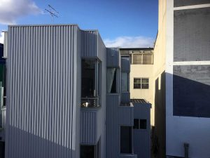 Cladding Replacement with Spandek - Low Rise Apartment Block West Melb (image)