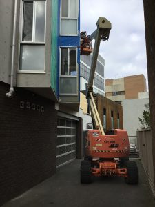 Apartment Building Cladding Replacement West Melbourne | Difficult Access | Roofrite
