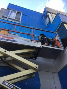 Apartment Building Cladding Replacement West Melbourne | Cladding Removal Underway | Roofrite