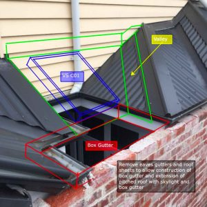 Velux Skylight concept sketch - Essendon (image)