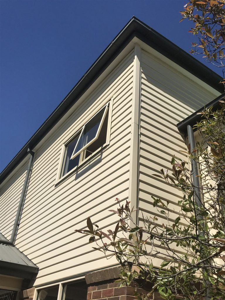 Colorbond Weatherboard Cladding Installation Prahran