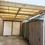 Carport Rebuild with Polycarbonate Roof Installation