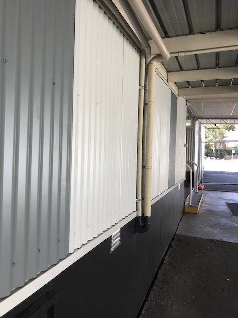 School Colorbond Wall Cladding Project Melbourne Roofrite