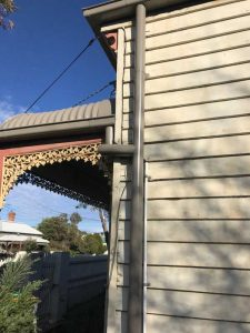Victorian Weatherboard Metal Reroof | After Downpipe Replacement | Replacement Roof Brunswick | Roofrite