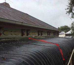 Victorian Weatherboard Metal Reroof | Before Bullnose Replacement | Before Replacement Roof Brunswick | Roofrite
