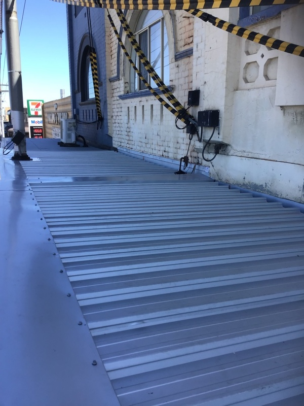 Replace Shopfront Metal Verandah Roof Thornbury | After | Melbourne | Roofrite