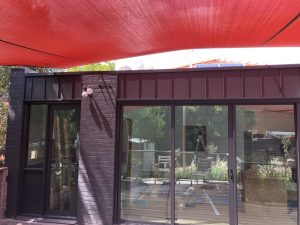 Colorbond Trayline Cladding Installed - Kew