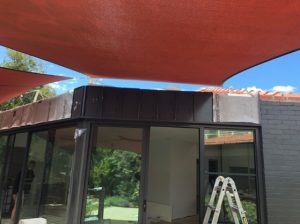 Colorbond Trayline Cladding Installed (Before)- Kew