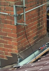 Water Ingress Through Chimney | Soaker Installation in Progress | Melbourne | Chimney Leaks | Roofrite