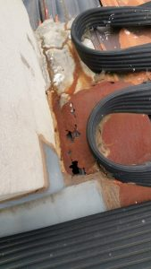 Water Ingress Through Chimney | Rusty Chimney Flashing | Melbourne | Chimney Leaks | Roofrite