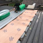 Metal Roof Replacement with Insulation