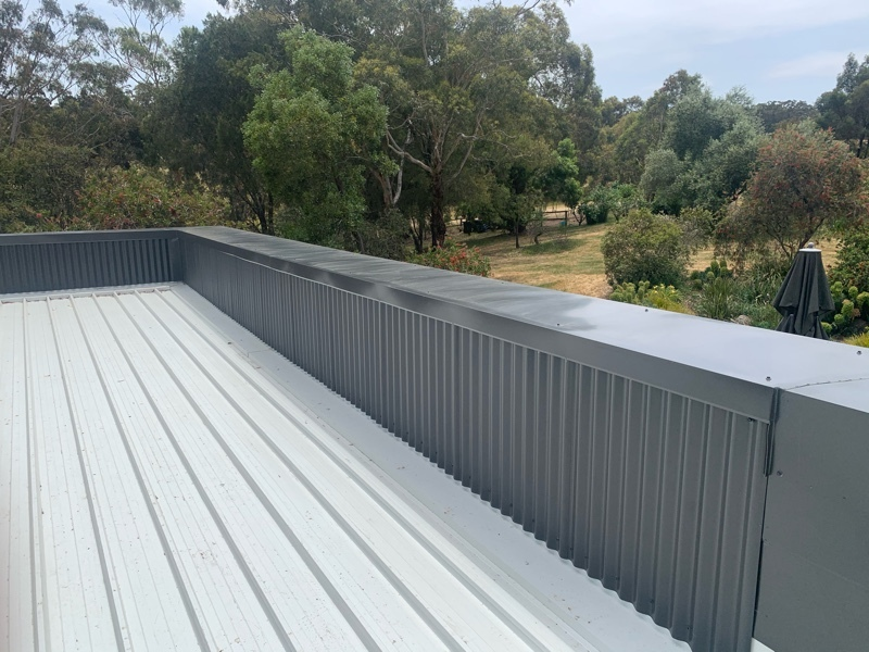 Difficult, Curved, High-End Colorbond Roof Replacement | Melbourne | Roofrite