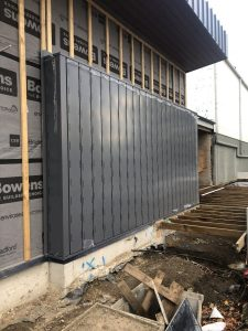 Diversaclad Cladding Feature Wall | Roofrite_Installers