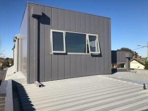 Trayline Cladding and Diversaclad Cladding Installation | Preston | Melbourne | Roofrite