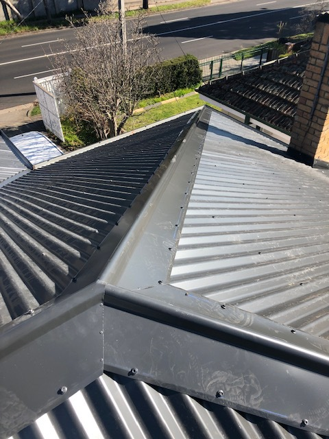 Tiles To Colorbond Metal Roof | Ridge Capping | Mitcham | Melbourne | Roofrite