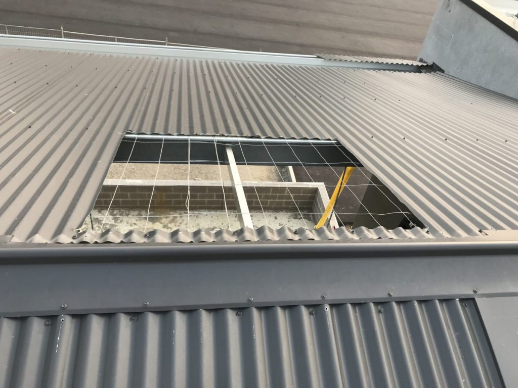 Commercial Skylight Installation | Velux Skylights Melbourne | Roofrite