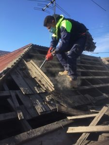 Filthy work, but someone has to do it! | Roof Replacement | Before | Coburg | Melbourne | Roofrite