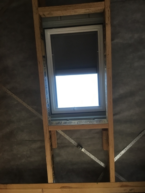 Velux Skylights | Installation | Blinf installed and checking it works | Melbourne | Roofrite
