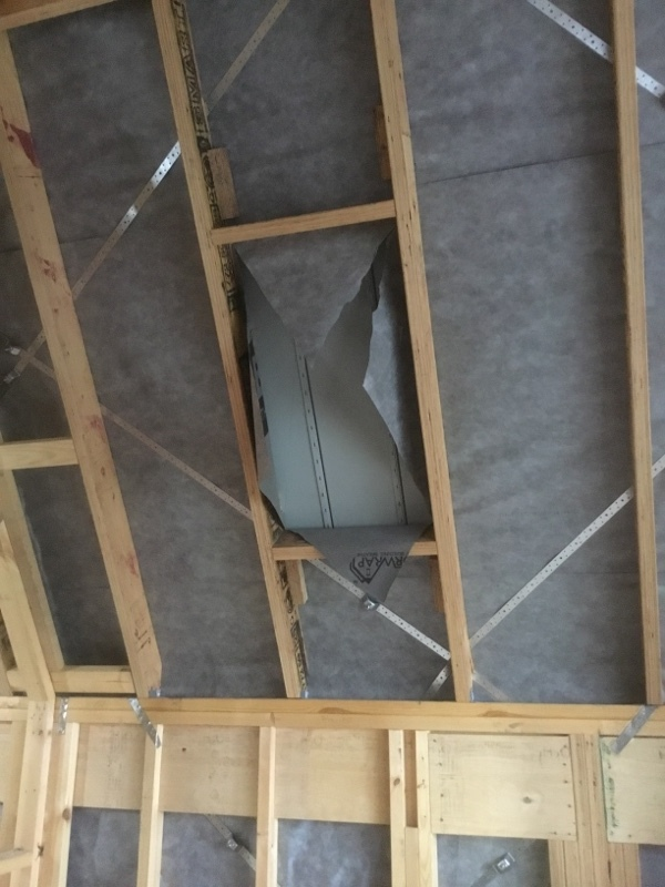 Velux Skylights | Installation | Framing in place and ready to mark out the roof | Melbourne | Roofrite