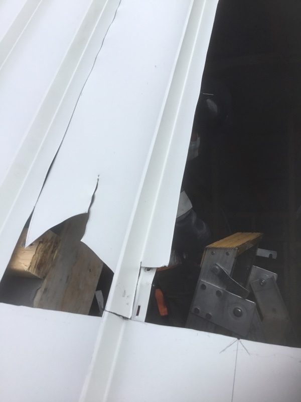 Velux Skylights | Installation | Roof marked out and being cut for install | Melbourne | Roofrite