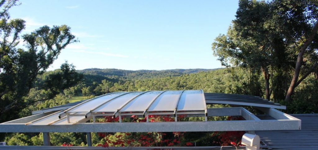 Curved Polycarbonate Reroofs | Melbourne | Roofrite