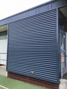 Spandek Cladding installed   Clayton South Primary School   Roofrite