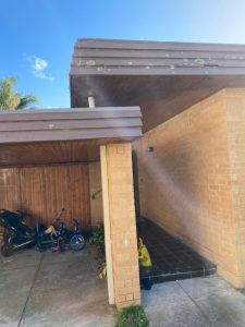 Weatherboards Replaced with Durasteel Weatherbord Cladding | Caulfield | Before | Roofrite