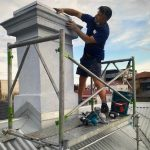 Chimney Cappings Installed