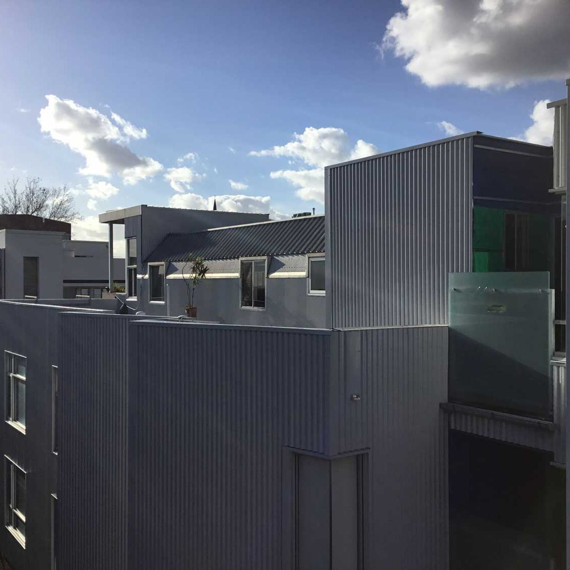 Colorbond Wall Cladding Replacement Melbourne - Apartment Block West Melb (image)