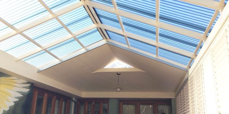 Polycarbonate Roof Replacement Heidelberg | Ampelite Solafrost